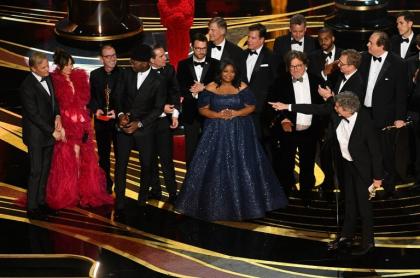 Elenco de Green Book en los premios Óscar