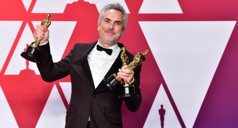 Alfonso Cuarón, en la gala de los Óscar 2019