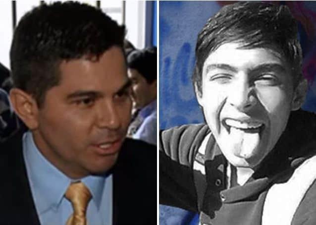 Coronel Haiver Peña (foto derecha) involucrado en muerte del gafitero Diego Felipe Becerra (foto derecha)
