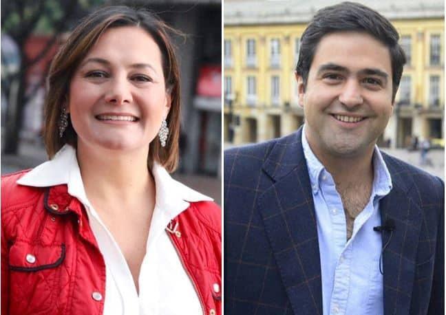Ángela Garzón y Samuel Hoyos