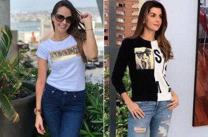 Laura Acuña y Carolina Cruz, presentadoras.