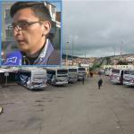 Andrés Arias, multado en terminal de transportes de Tunja