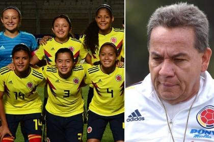 Selección Colombia Femenina Sub-17 y Dídier Luna