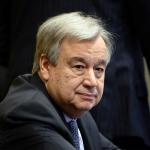 António Guterres (der.)