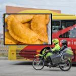 Transmilenio y empanada