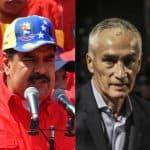 Nicolás Maduro y Jorge Ramos