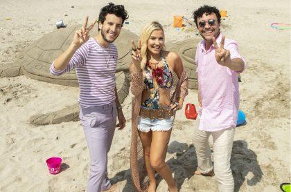 Sebastián Yatra, Fanny Lu y Andrés Cepeda, cantantes.