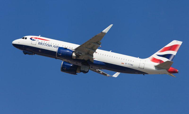 Avión British Airways