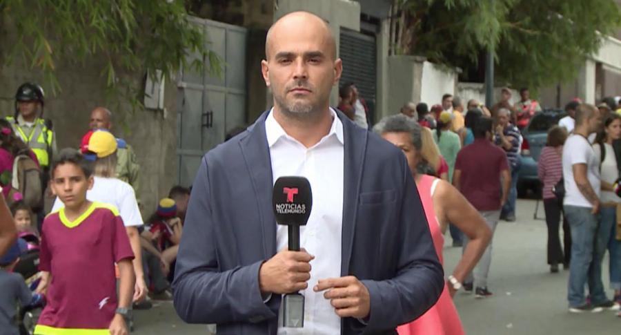 Daniel Garrido, periodista Telemundo