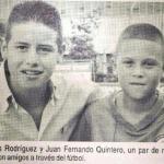 James Rodríguez y Juan Fernando Quintero