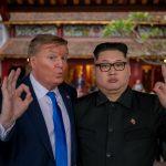 Dobles de Donald Trump y Kim Jong-Un