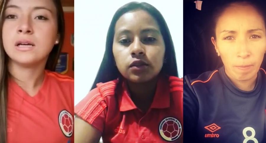 Michelle Lugo, Vanessa Gómez y Paola Sánchez