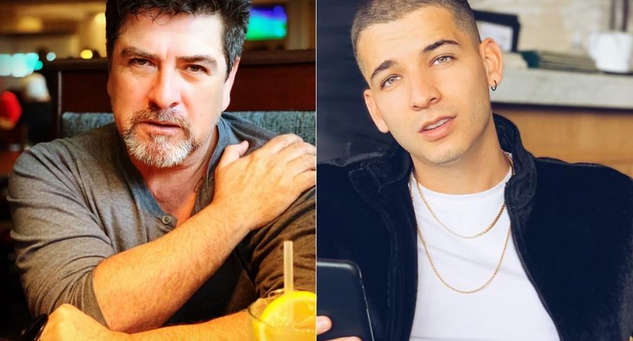 Fabio Legarda padre y Fabio Legarda Jr., cantante.