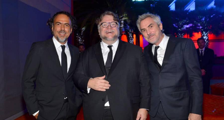 Alejandro González Iñárritu, Guillermo del Toro y Alfonso Cuarón