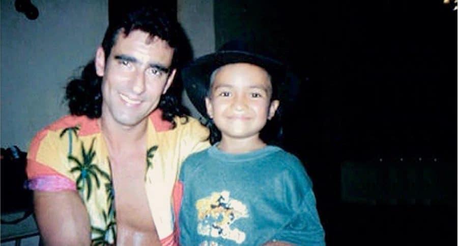 Miguel Varoni y Carlos Kaju, actores.