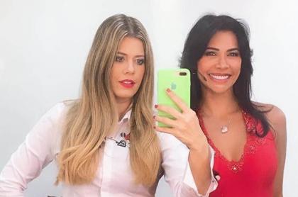 Lorna Cepeda y Martha Isabel Bolaños