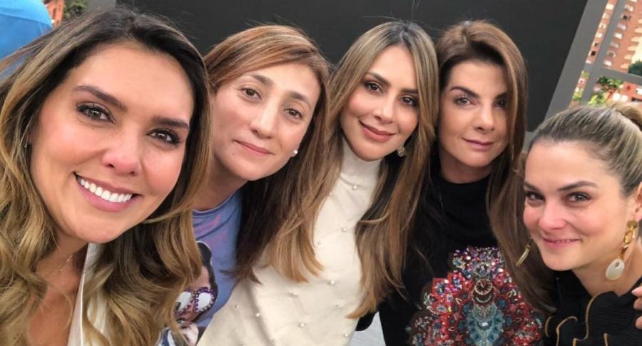 Mónica Rodríguez, Carolina Soto, Carolina Cruz y Catalina Gómez, presentadoras.