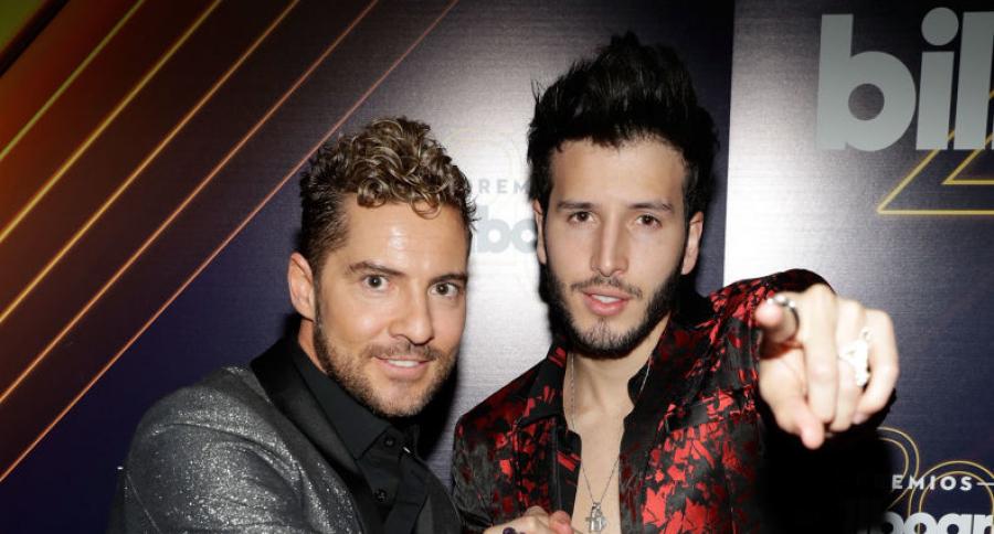 DAvid Bisbal y Sebastián Yatra