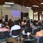 Clase en la Universidad Nacional de Colombia