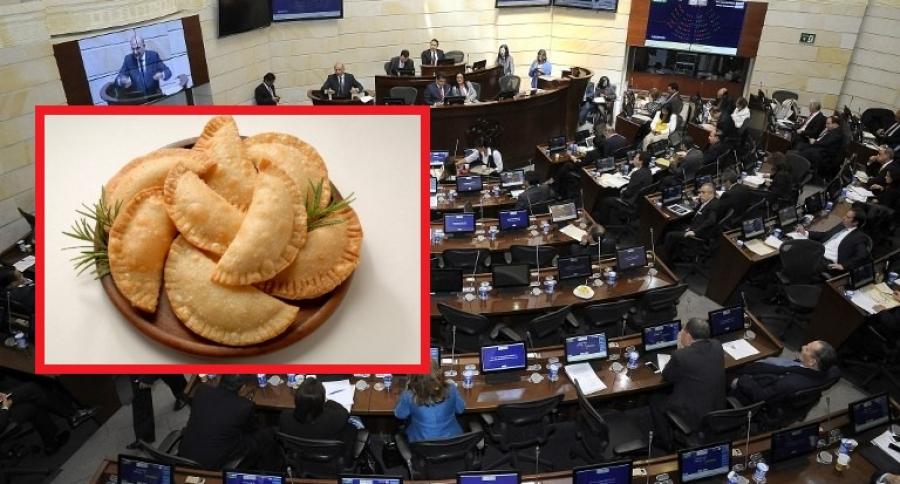 Empanadas y Congreso
