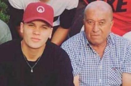 Juan Fernando Quintero y su abuelo