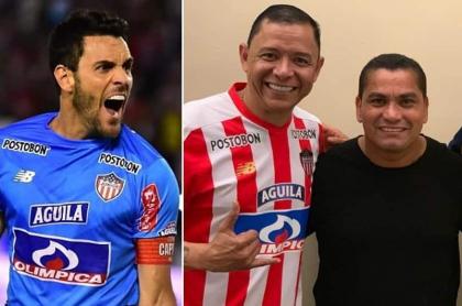 Sebastián Viera Iván René Valenciano y Víctor Danilo Pacheco