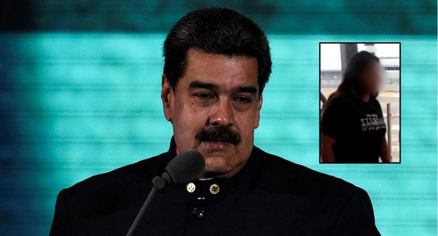 Nicolás Maduro y 'Pau Pau'