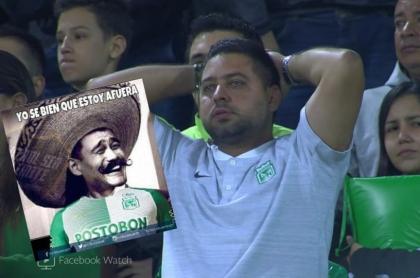 Memes eliminación de Atlético Nacional