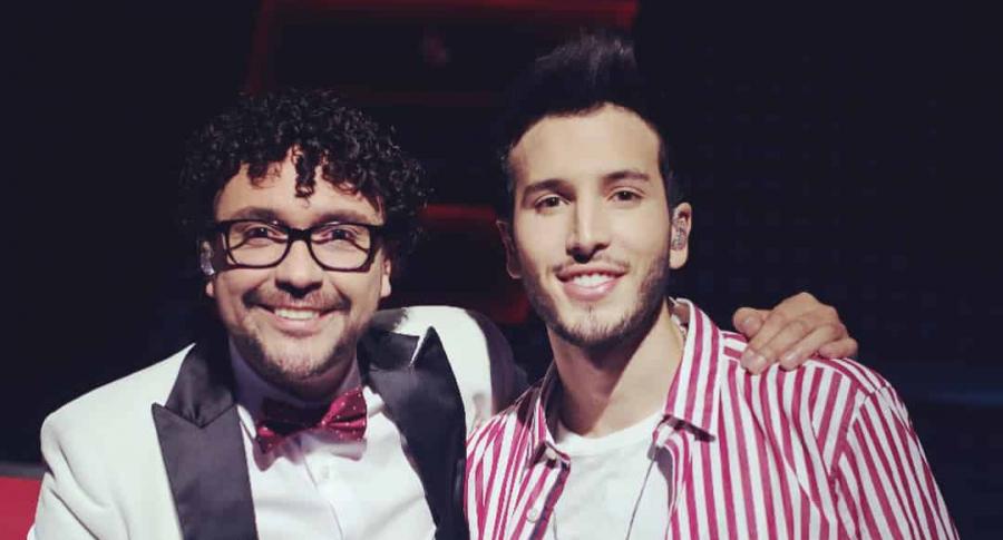 Andrés Cepeda y Sebastián Yatra