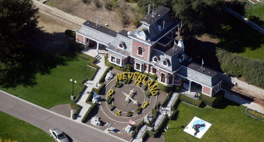 Vista aérea de 'Neverland' en 2003
