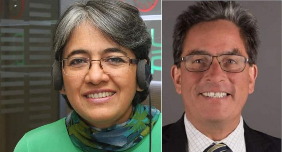 Alberto Carrasquilla y Yolanda Ruiz