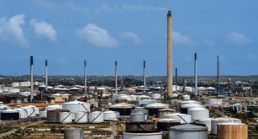 Refinería petróleo
