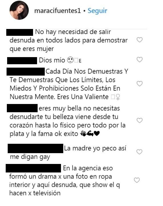 Comentarios post Mara Cifuentes
