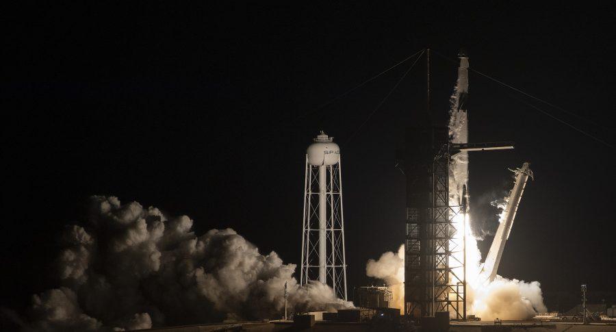 La nueva cápsula Crew Dragon de SpaceX