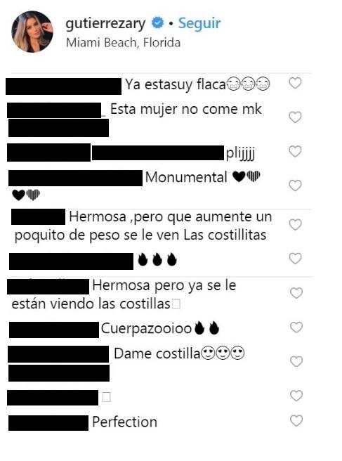 Comentarios post Ariadna Gutiérrez