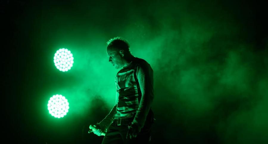 Keith Flint, cantante de The Prodigy.