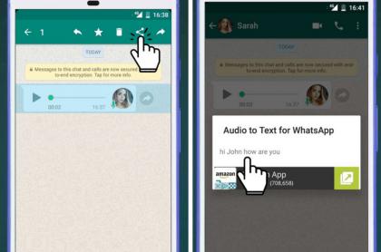 App de Audio en Texto