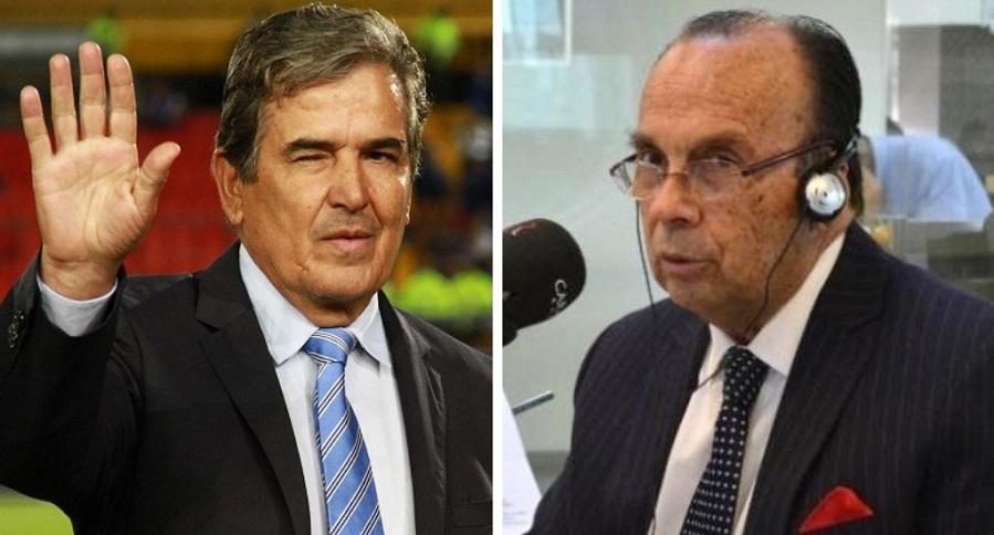 Jorge Luis Pinto y Hernán Peláez