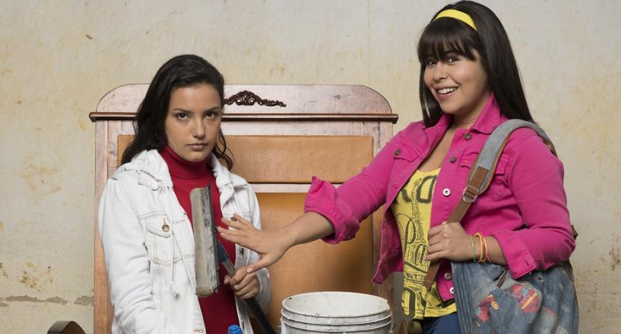 Laura Torres y Juliana Velásquez, actrices.