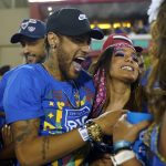 Neymar está en el Sambódromo de Río de Janeiro