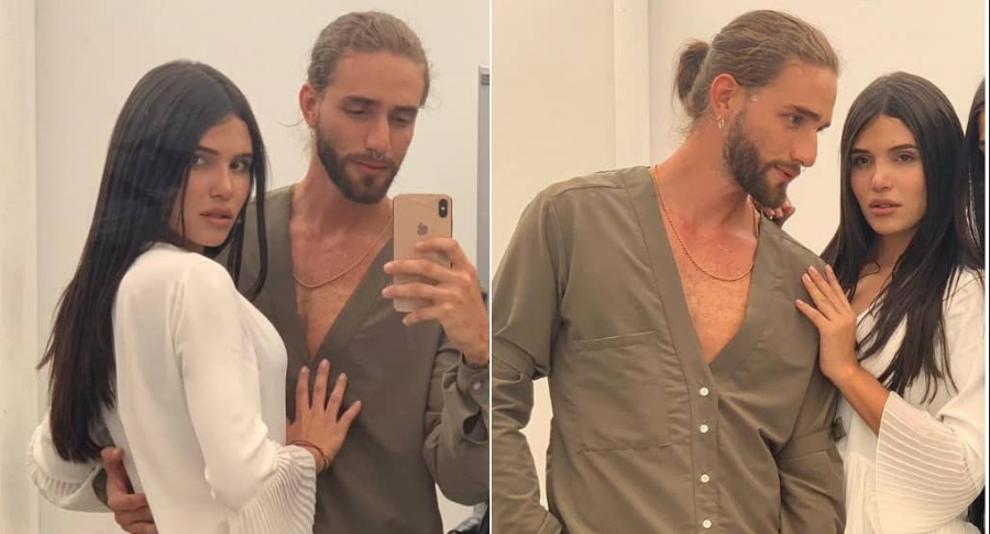 Mara Cifuentes y Nicolás Trujillo, modelos.
