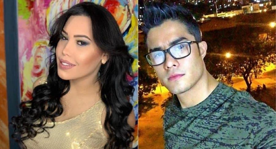 Ana del Castillo y Juan Mindiola, cantantes.