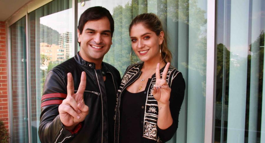 Alejandro Palacio y Laura Tobón