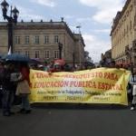 Protestas de Fecode