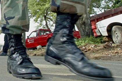 Soldado caminando