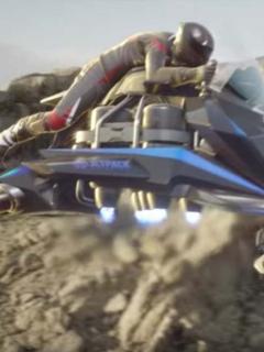 Moto voladora.