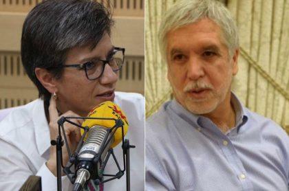 Claudia López y Enrique Peñalosa