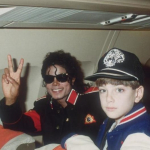 Michael Jackson con James Safechuck.
