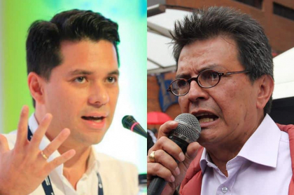 Luis Carlos Vélez y William Agudelo