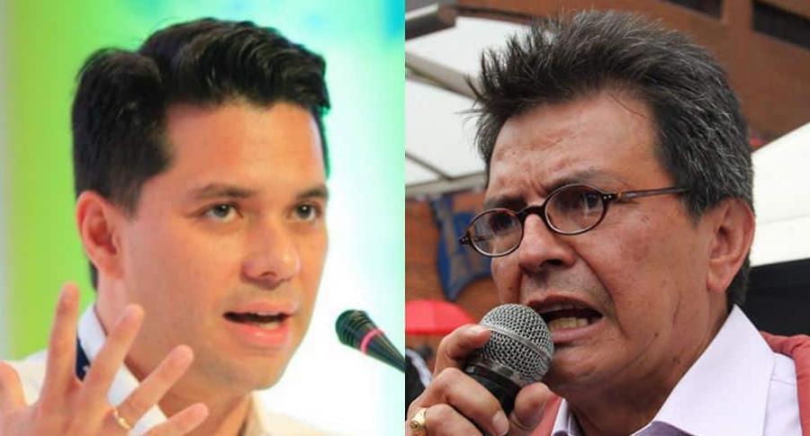Luis Carlos Vélez y William Agudelo